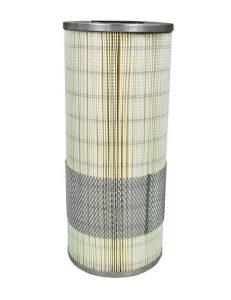 Filtreri cartouche de filtration plissées en microfibres de verre