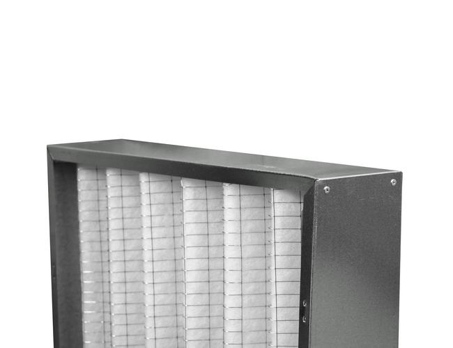 Filtreri filtre avec cadre en métal et média synthétique pour préfiltration d'air