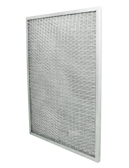 Filtreri filtre avec cadre en metal galvanise et avec tricot métal pour préfiltration d'air