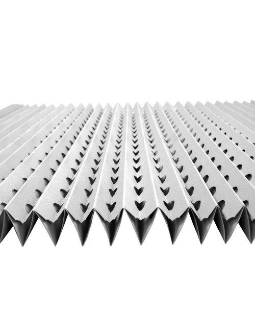 Filtreri panneau de carton plissé alvéolé pour préfiltration d'air